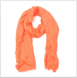 oranje-sjaal