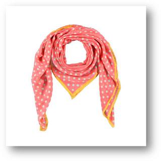 sjaal zalmkleur