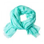 Sjaal Azuurblauw