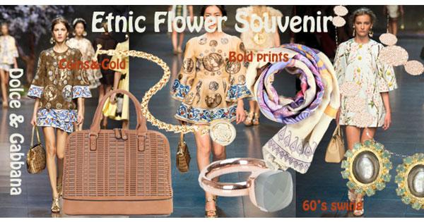 Etnic-bloemenpracht