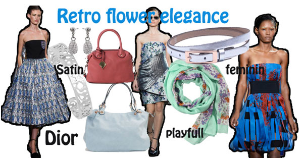 Retro-bloemen-elegantie